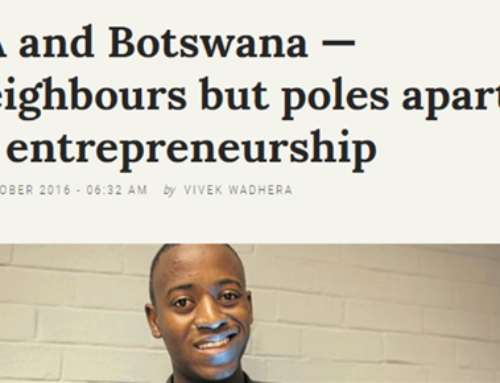 SA and Botswana — neighbours but poles apart in entrepreneurship
